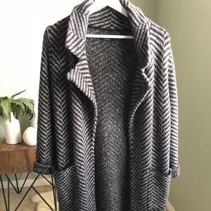 Zara Long Knit Cardigan/ Coat